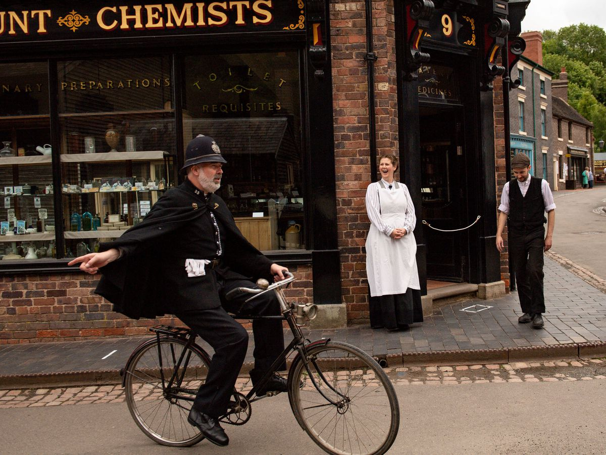 Blists Hill Victorian Town is part of the Ironbridge Gorge Museums which has been given £500,000