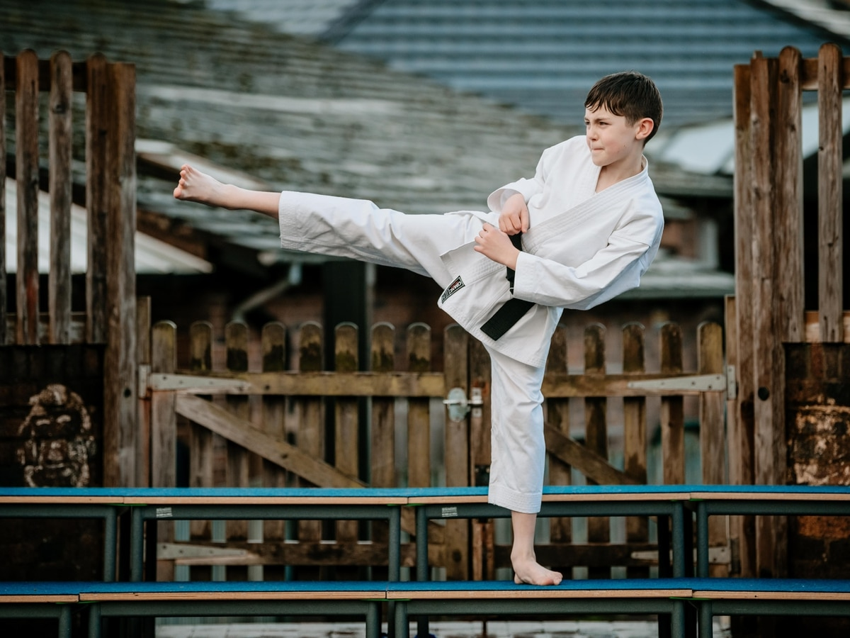 Telford karate kid Billy, 10, kicks off campaign to compete abroad - shropshirestar.com
