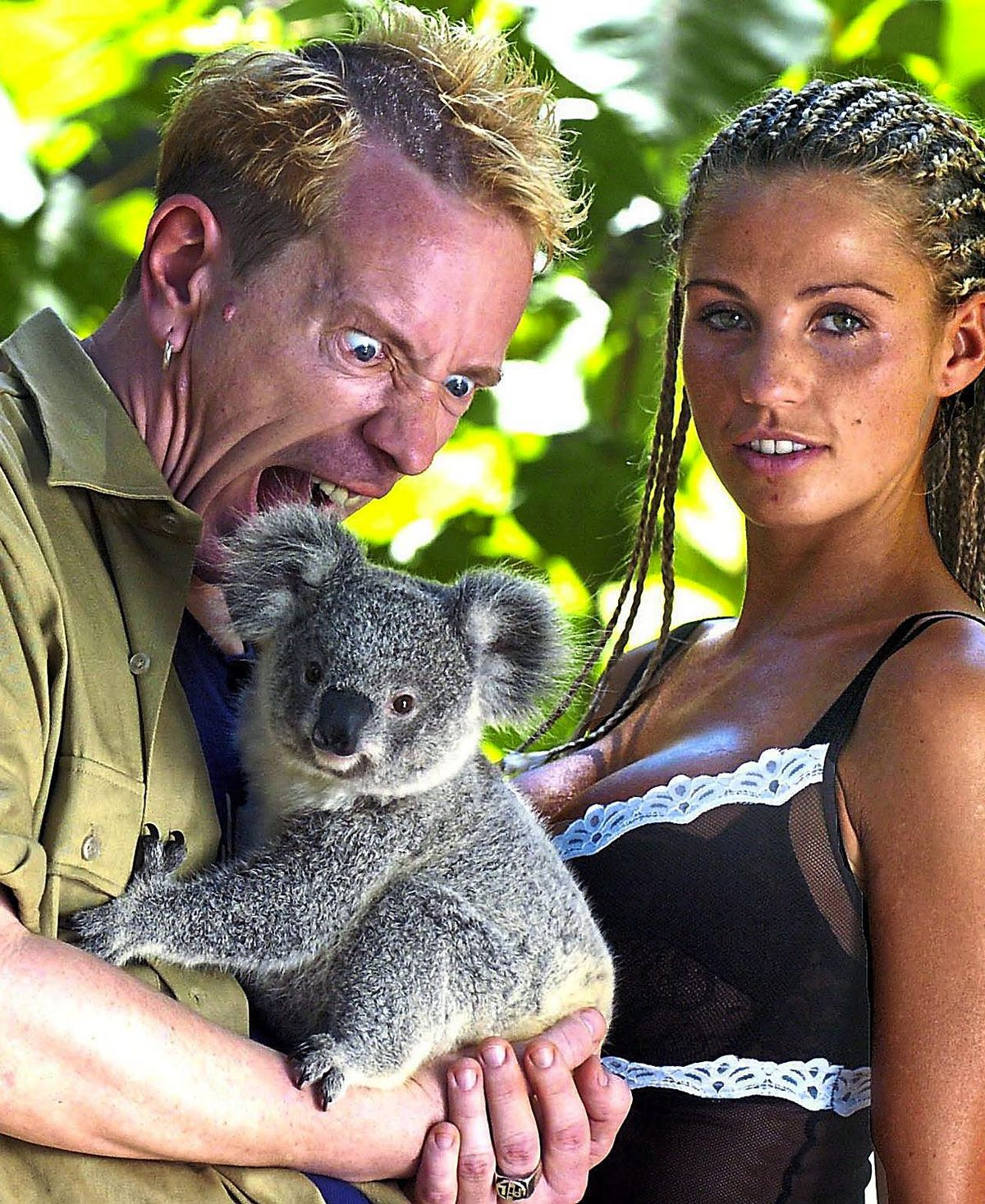 Johnny was a hit on ITV's I'm a Celebrity