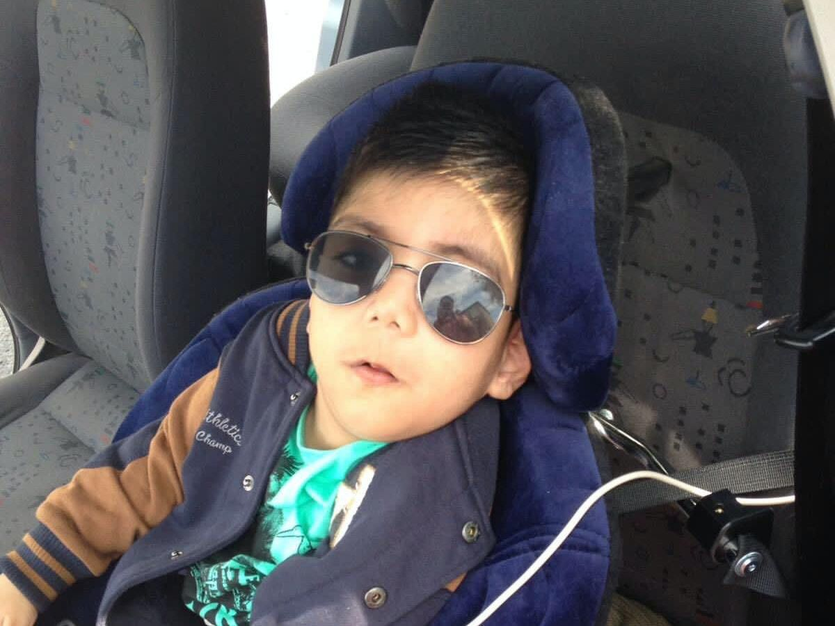 Fehzan Jamil, 10, who is thought to be one of the youngest victims of Covid-19 in the UK