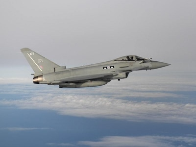 RAF jets based in Estonia intercept Russian planes