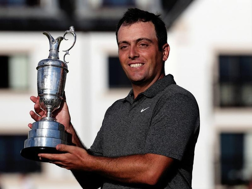 Francesco Molinari secured a memorable Open title