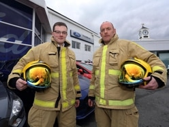 Shropshire employers thanked for employing county firefighters