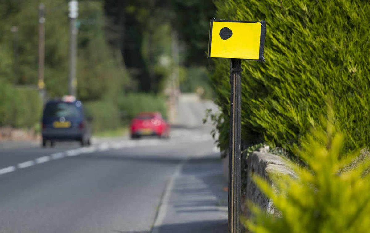 Fake camera puts brakes on drivers in Shropshire village - but officials not happy