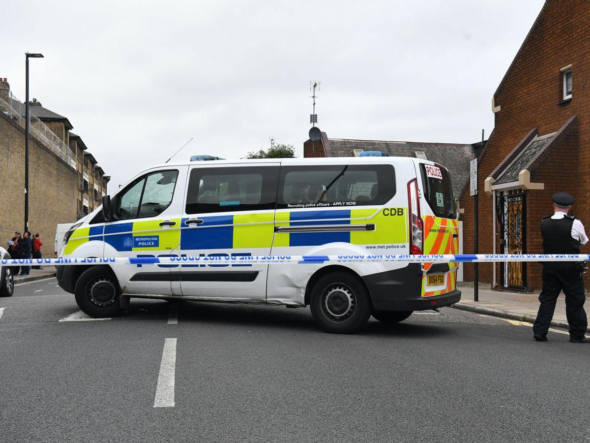 Police at Roman Way