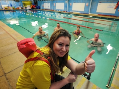 Shropshire swimming pool reopens after roof repairs