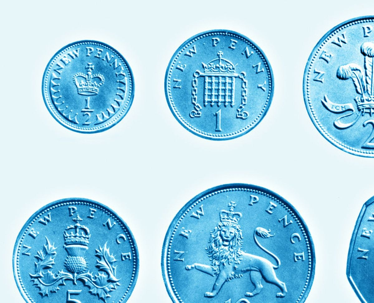 The new decimal coins