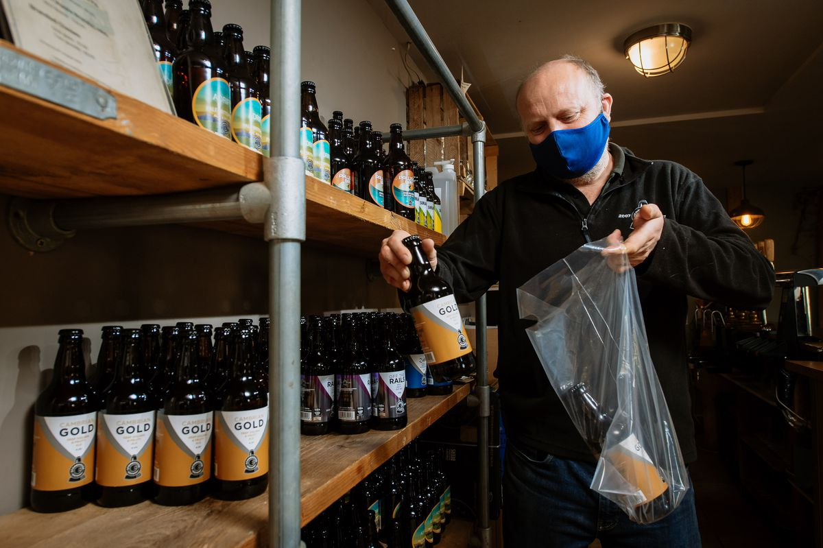 Stonehouse Brewery director Shane Parr