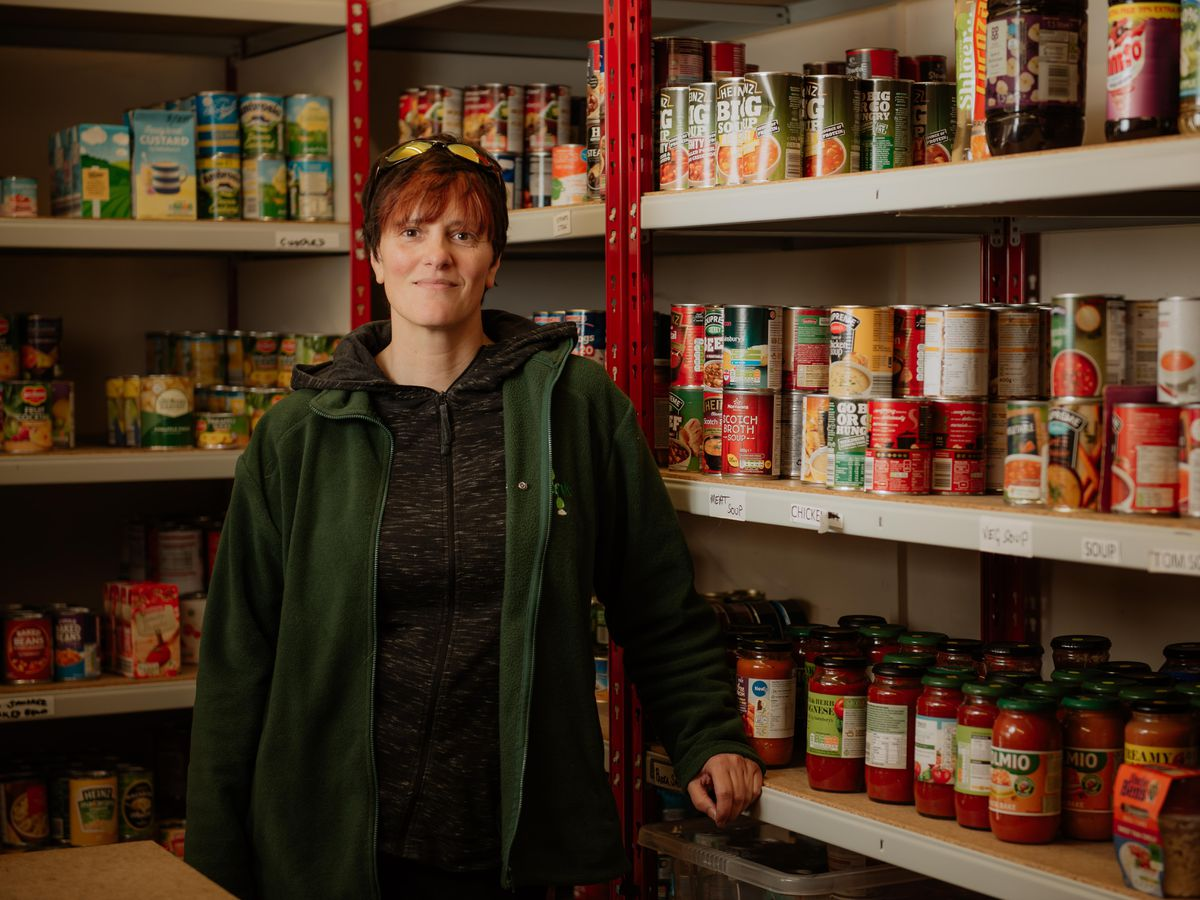 Liz Jermy, from Oswestry and Borders Food Bank