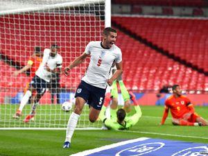 England's Conor Coady celebrates (PA)
