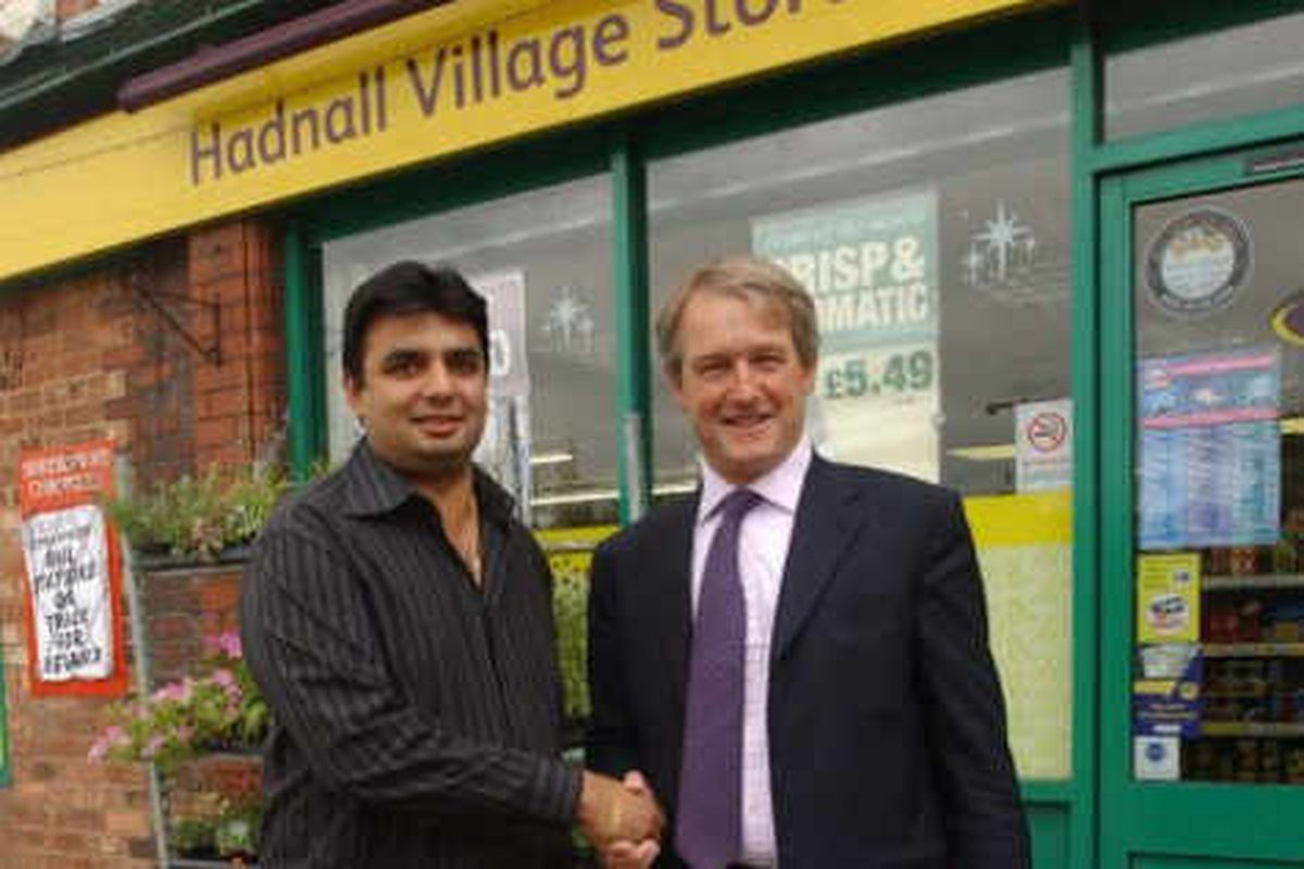 MP Paterson discusses future of Hadnall Post Office