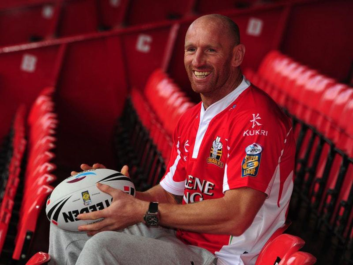 Gareth Thomas, who is taking part in Ironman Wales (Andrew Matthews/PA)