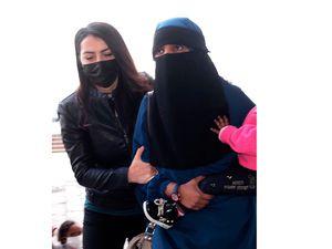 The alleged militant