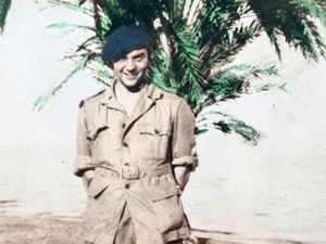 Young Shropshire National Serviceman Roy Cooper.