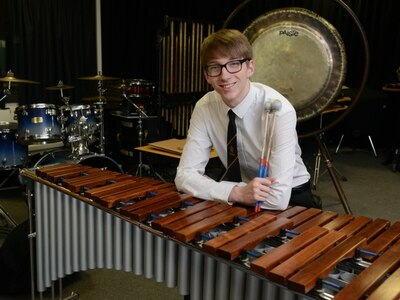 Telford percussionist, 18, reaches final of BBC Young Musician of the Year competition - watch him play