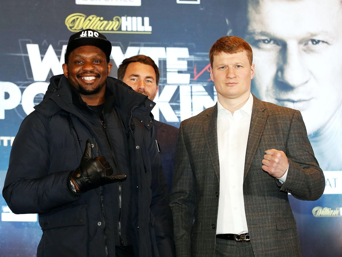 Dillian Whyte and Alexander Povetkin Press Conference – Mercure Manchester Piccadilly Hotel