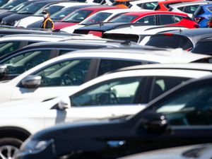 Demand for new cars fell