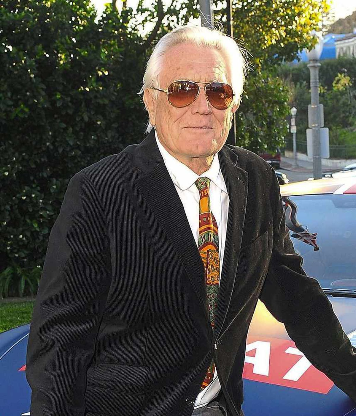 George Lazenby now, aged 75