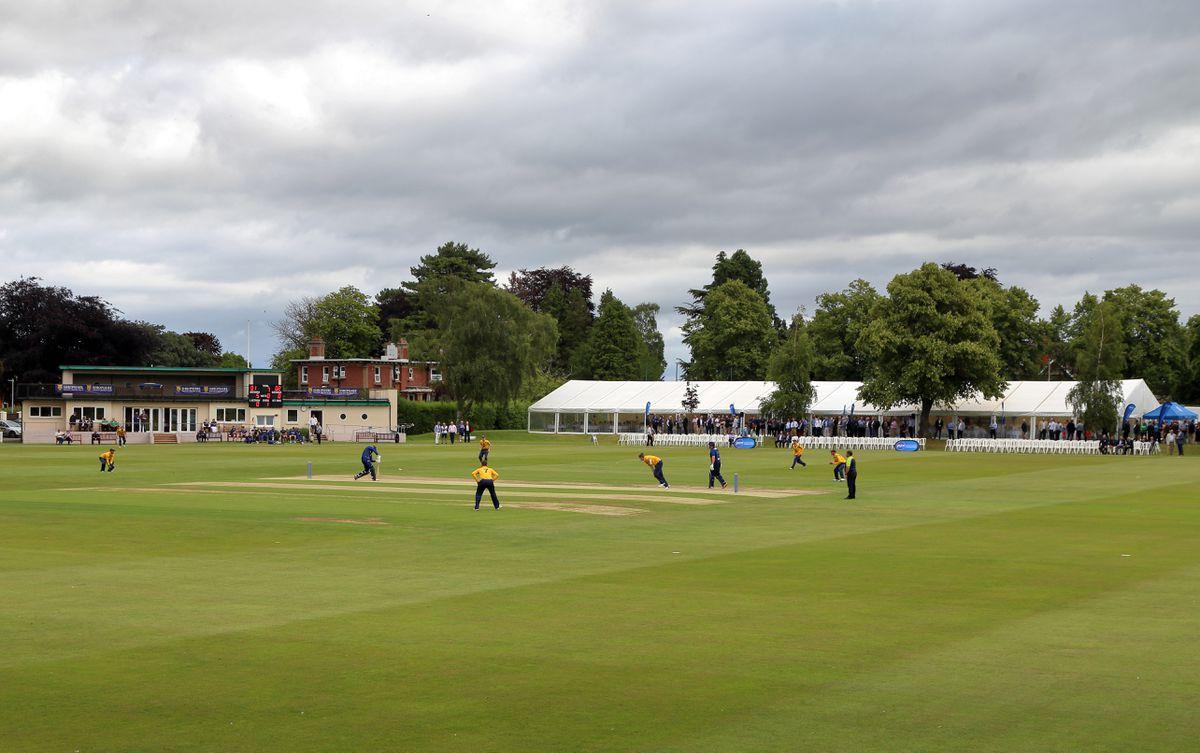 Shropshire County Cricket Club take on Scottish champions Grange Cricket Club