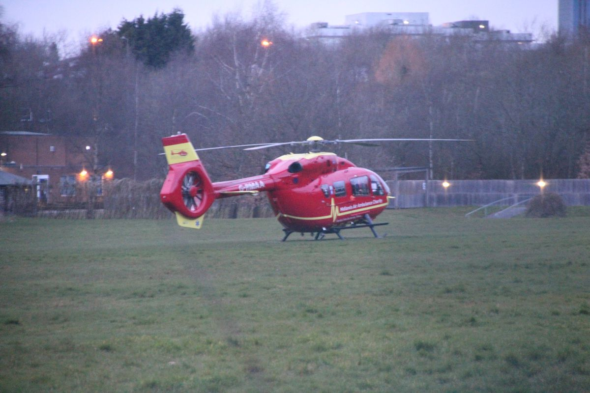 The air ambulance. Photo: JA Photography