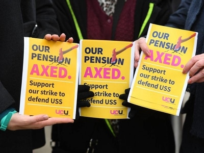 University bosses insist they are open to talks in pensions row