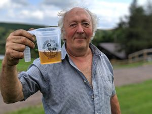 Farmer Phil Harding pictured on his farm at Ratlinghope, near Church Stretton, ahead of Farmer Phil's Music Festival this weekend (Festival is on Friday 9 and Saturday 10 August).Taken 06/08/2019 by Juliet (shot video too)