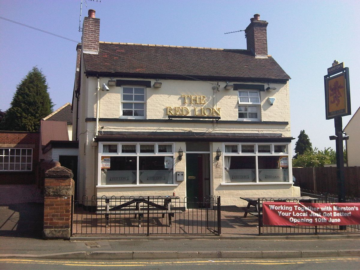 The Red Lion in Madeley