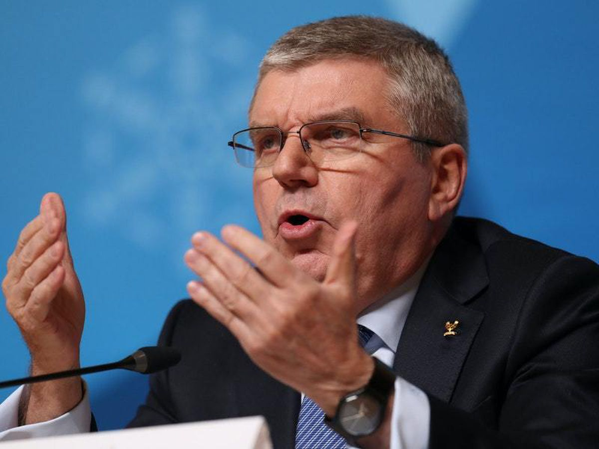 IOC president Thomas Bach has spoken about the costs of postponing the Tokyo Olympics