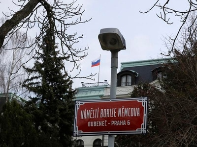 Prague square named after Russian opposition figure Boris Nemtsov