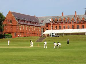 Ellesmere College - one of the top schools in the country for cricket.
