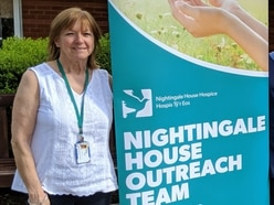 Hospice outreach centre opens in Chirk