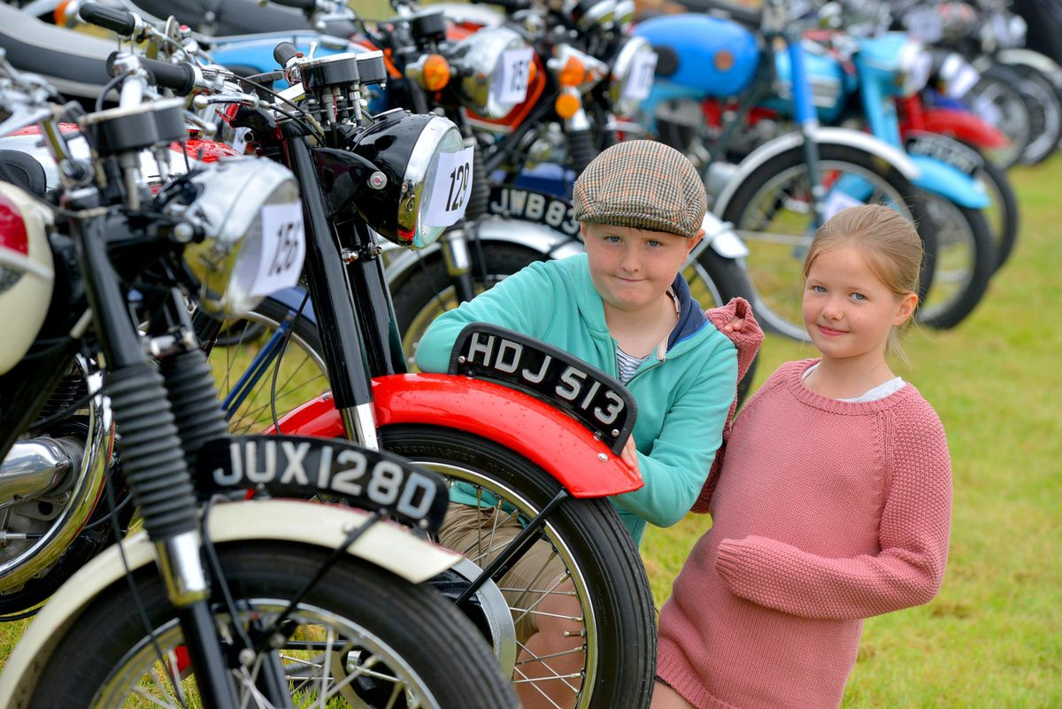 George Bailey, 10, and Mia Bailey, 8, from Cannock
