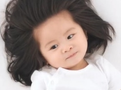 This baby has hair so incredible she's now starring in a Pantene campaign