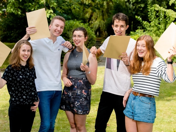 A-level results: Shropshire and Mid Wales sixth formers find out their fate - PICTURES and VIDEO