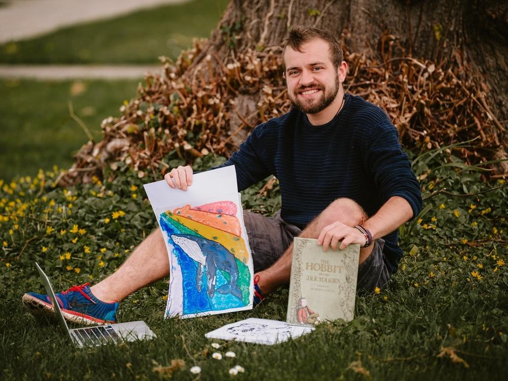 Shrewsbury storyteller tells tales online