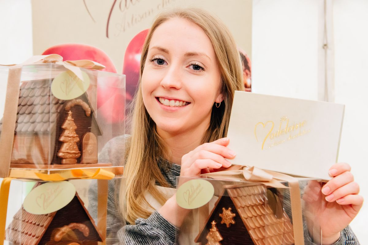Madeline Moore from Madeline Artisan Chocolate
