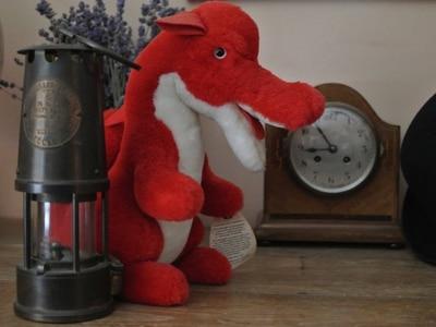 Shropshire dragon fired author's imagination