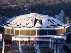 Georgia Dome reduced to rubble in implosion after short but action-packed life