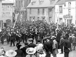 Parade mystery stumps historian Allan