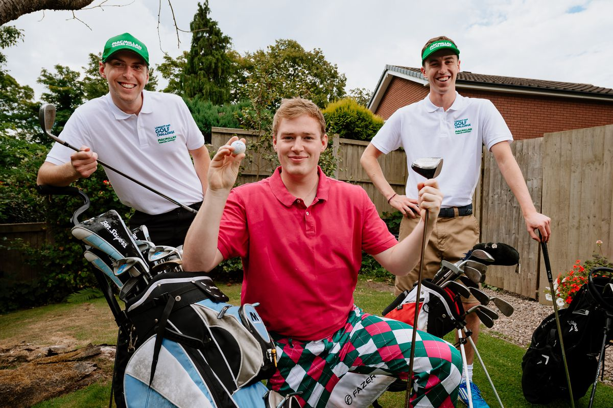 Friends take on 72-hole golf challenge | Shropshire Star