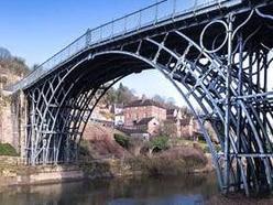 Permanent lighting scheme unveiled for Iron Bridge