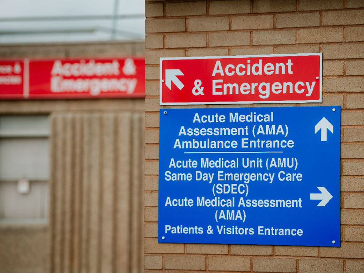 The money will be used to alleviate pressure on the A&E at Shrewsbury