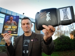 Tyson Fury takes the fight to cancer with Richie's help
