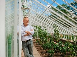 TV's Jules Hudson escapes to see 'magical' Shrewsbury garden
