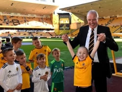 Let's back Zac: Broseley youngster is special guest at Wolves - with pictures