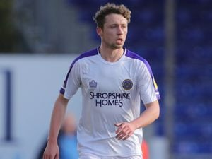 Matthew Pennington of Shrewsbury Town.