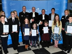 Young people honoured by police at good citizen awards