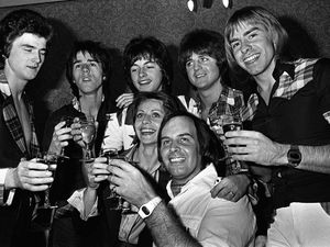 The Bay City Rollers in 1976
