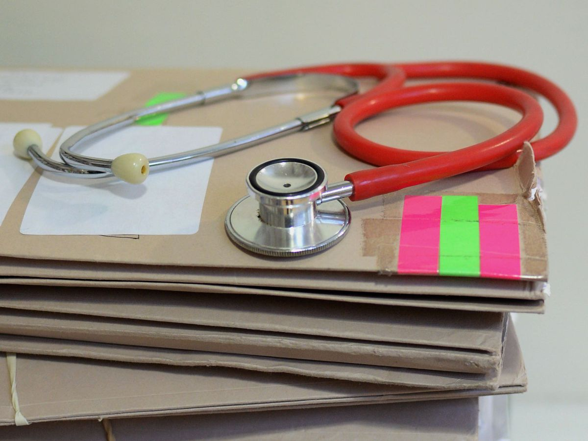 GP surgery files