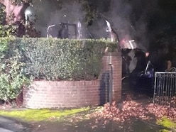 Caravan destroyed in Wellington arson attack